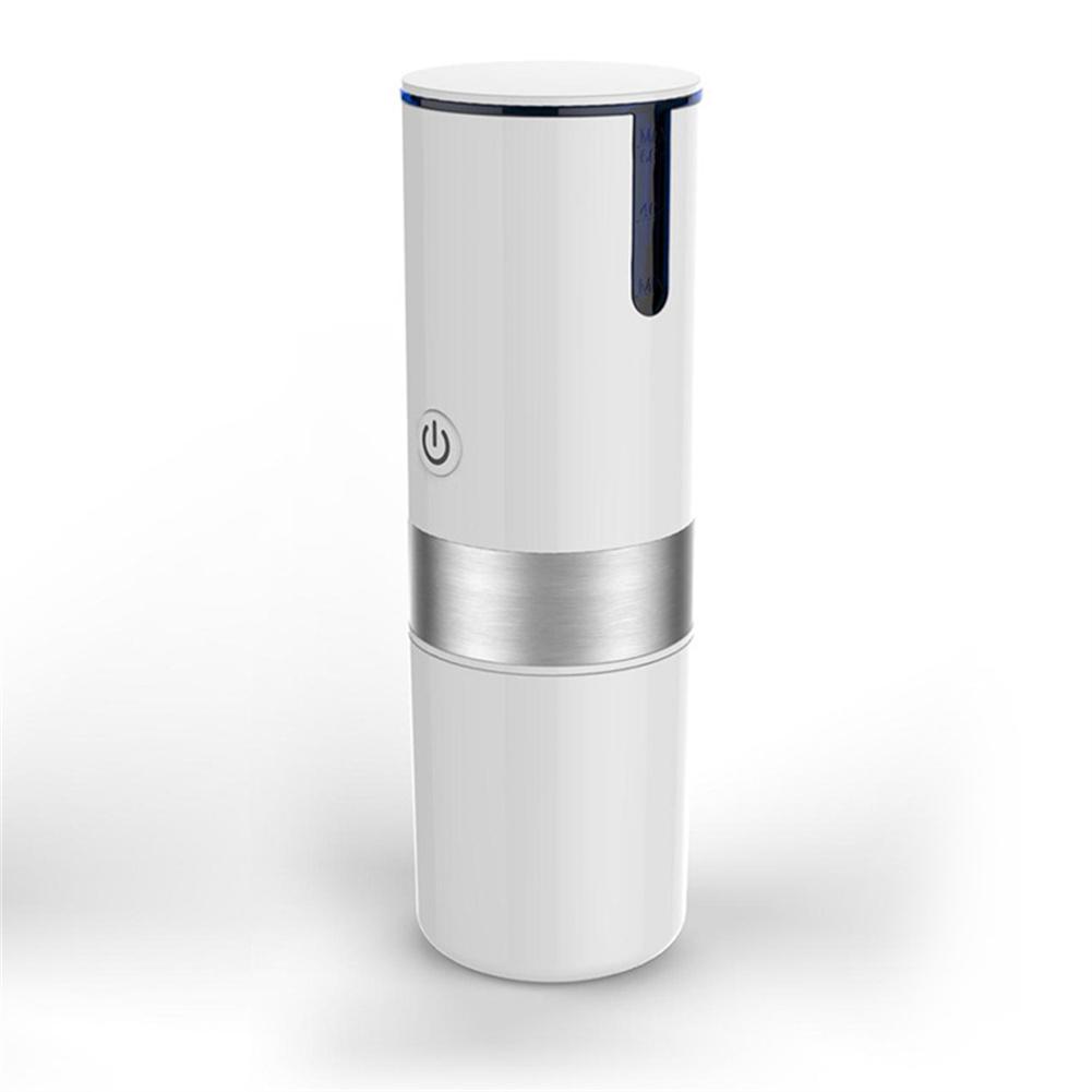 Stainless Steel Portable Capsule Coffee Machine Kitchen Appliances Household Coffee  Machine White