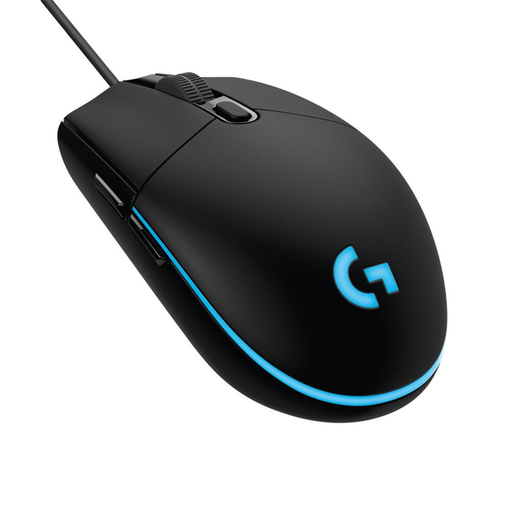 g102 Second Generation RGB Professional Gaming Optical Wired Mouse black
