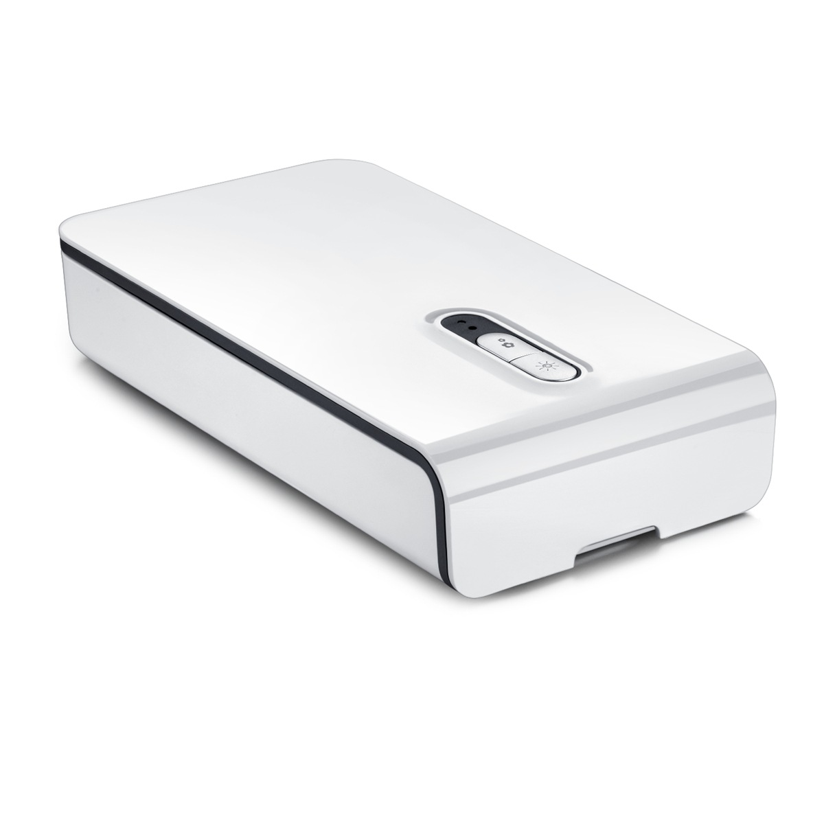 Portable UV Phone Sterilizer Box for Jewelry Cellphone Underwear Mask Toothbrush Disinfection White