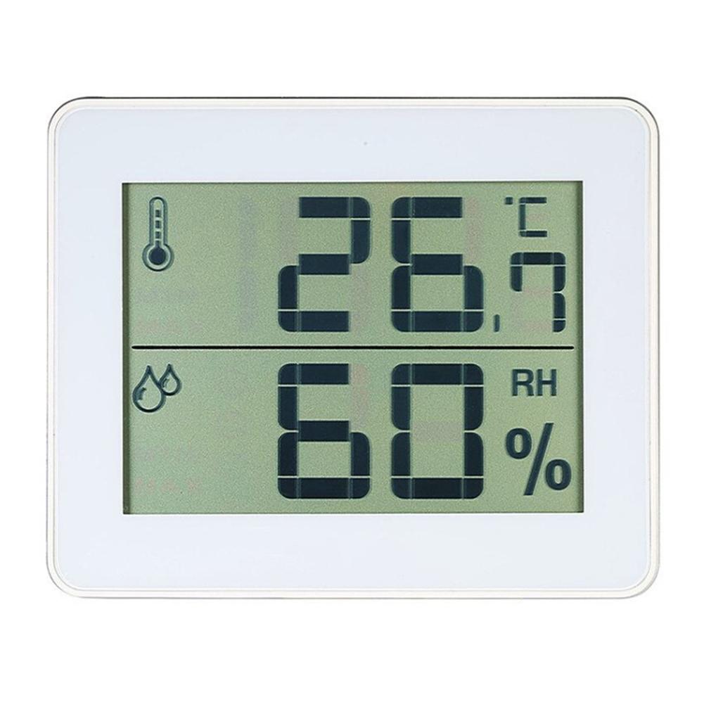 TS-E01 Digital Display Household Thermometer Hygrometer Indoor Thermometer Comfort Level Display  TS-E01-W