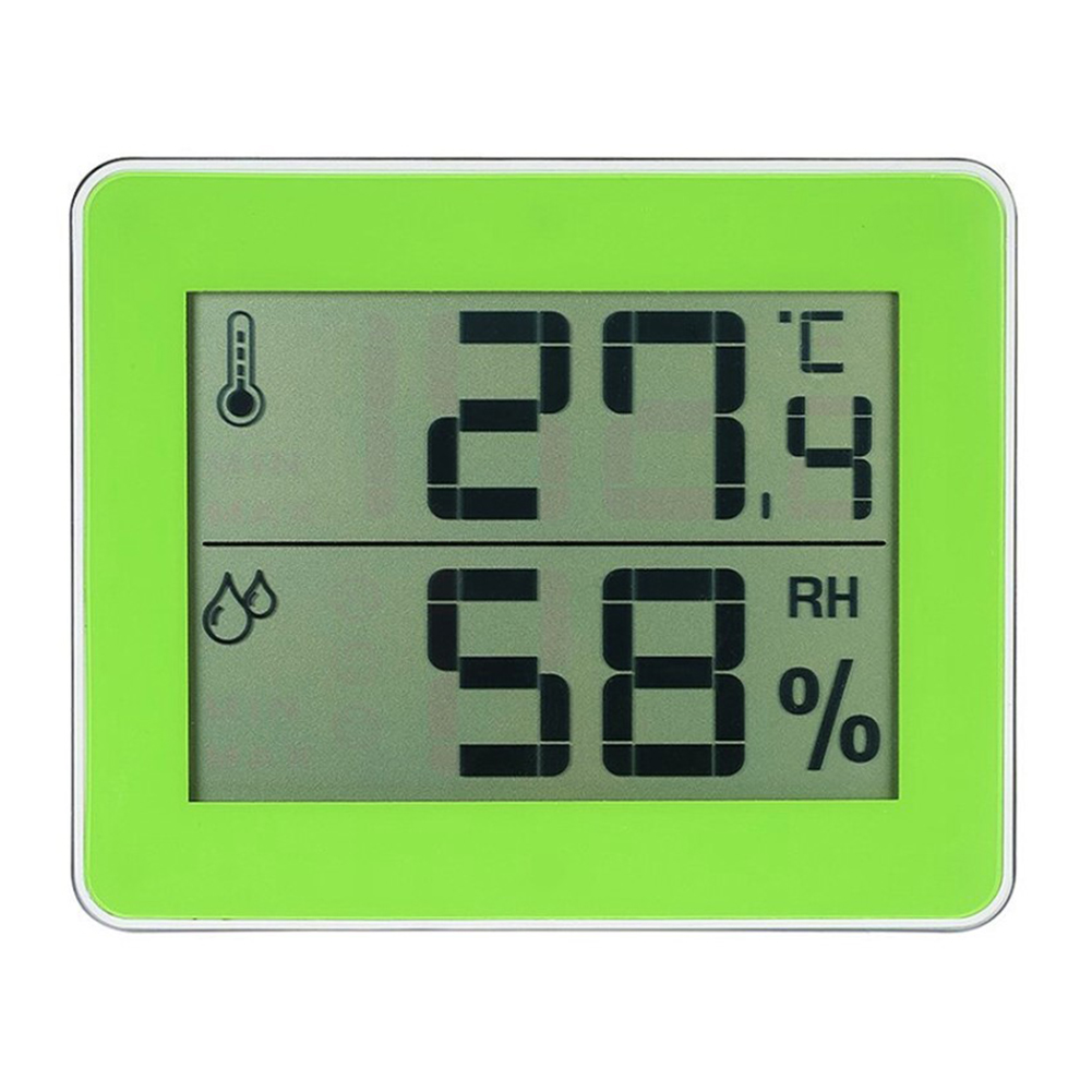 TS-E01 Digital Display Household Thermometer Hygrometer Indoor Thermometer Comfort Level Display  TS-E01-G
