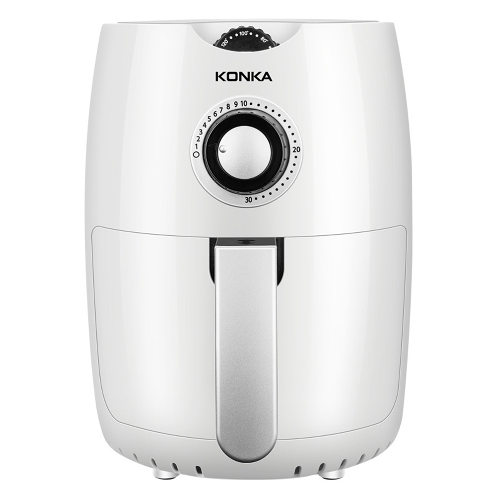 2.5l Multifunction Air  Fryer Oil Free Health Fryer Pizza Cooker Electric Deep Airfryer white