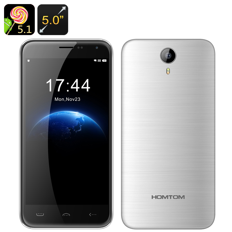 Homtom HT3 Android Smartphone (Silver)