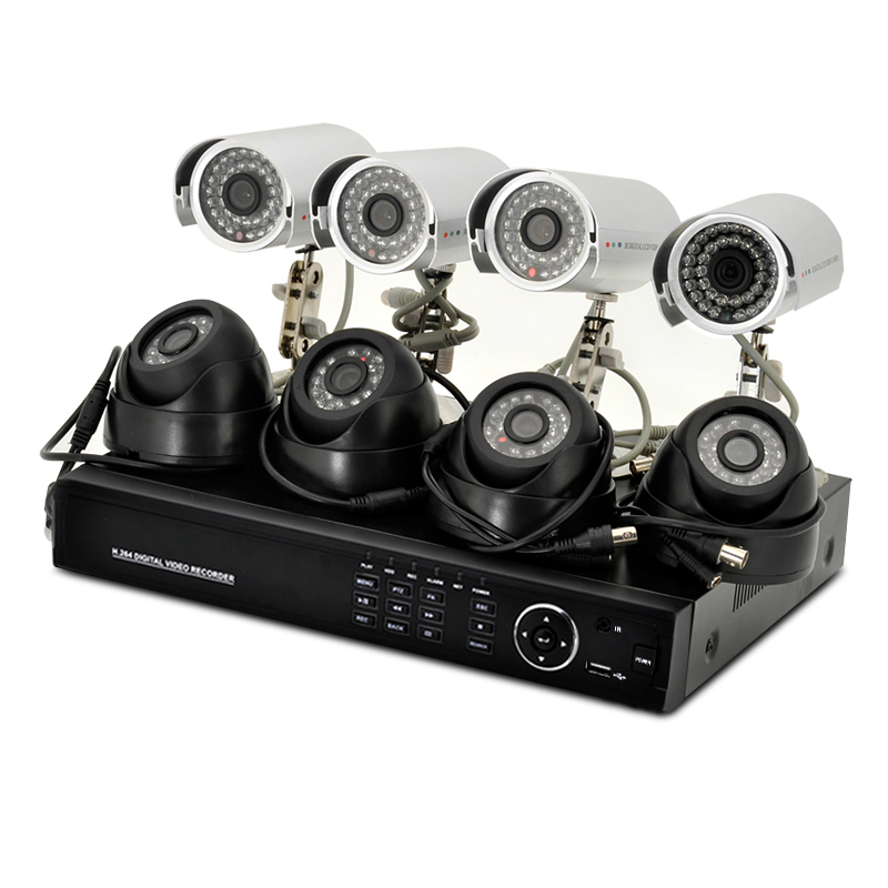 8 Channel DVR System - Secure Vision