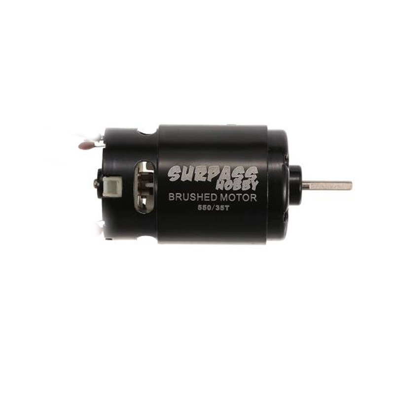 550 12T 21T 27T 35T Brushed Motor for Wltoys Kyosho TRAXXAS TRX4 Redcat 1/10 D90 D110 SCX10 RC Car Off-road Crawler 21T