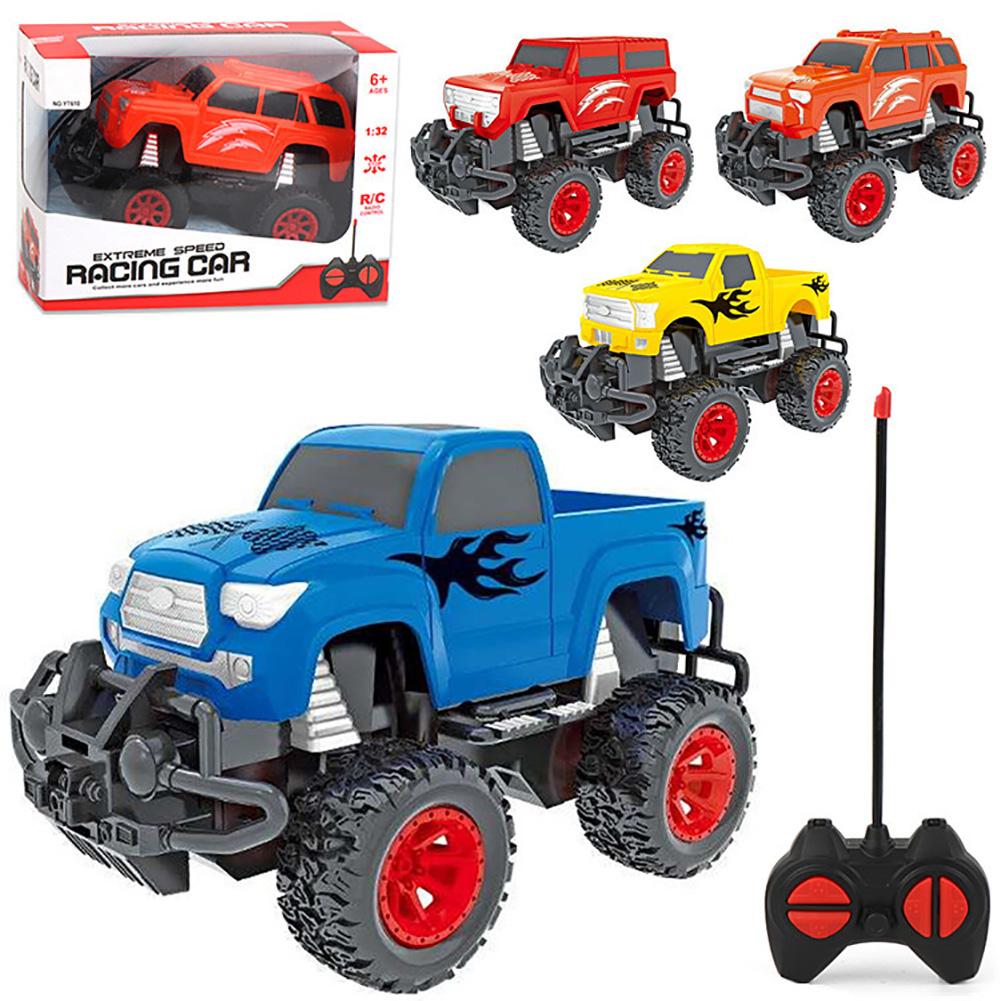 Children Electirc Remote Control Toy Car 1:32 Quattro Wireless Off-road Racer Toy Four-way off-road model (random one)_1:32