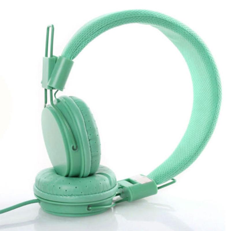 Kids Wired Ear Headphones Stylish Headband