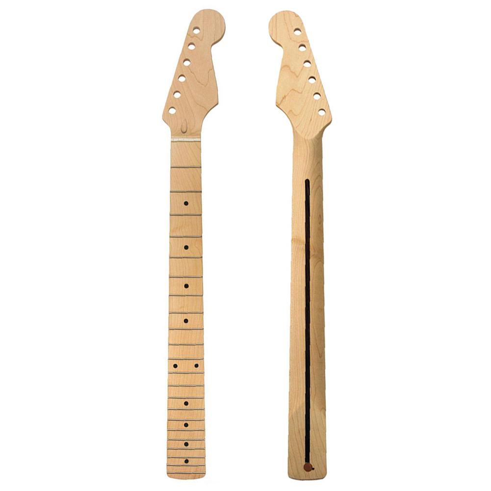 22 Fret Maple Fingerboard ST Guitar Neck 22 fret Maple fingerboard