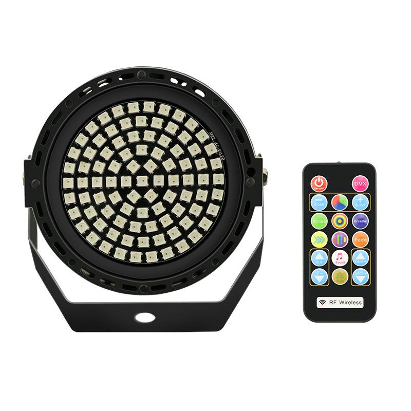 91LEDs Mini Strobe Light with Remote Control DMX512 Sound Auto Control Flash Stage Lighting for DJ Disco KTV Party Club American regulation