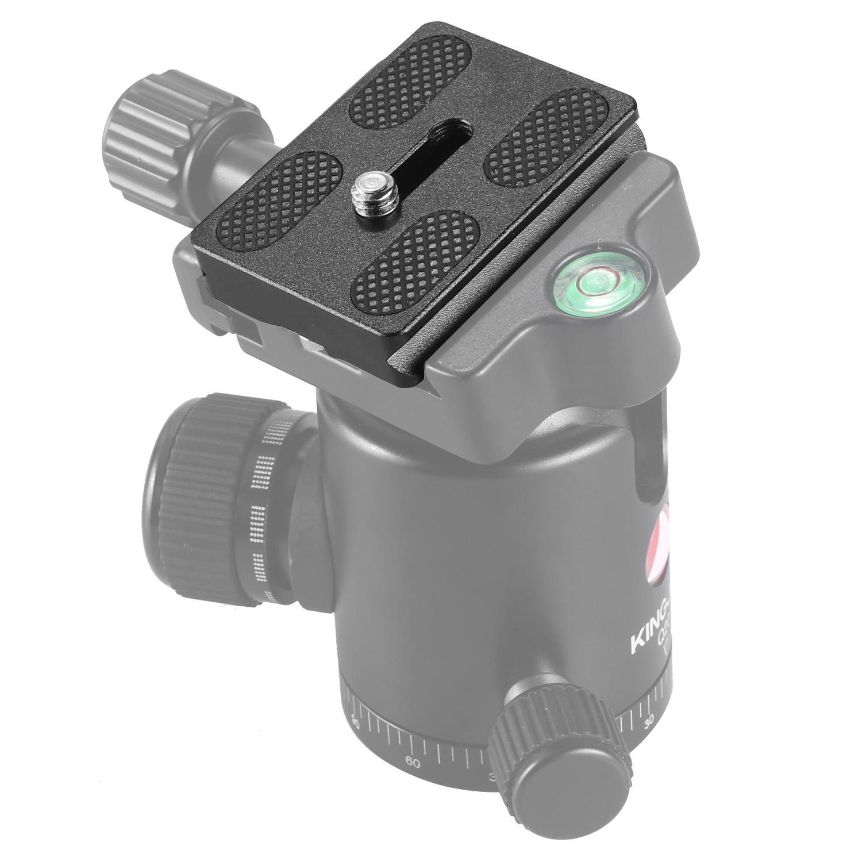 PU-50 Quick Release Plate for Universal Digital Cameras black
