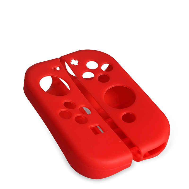 Soft Silicone Cover Case Anti-Slip Shockproof Protective Cover for Nintendo Joystick