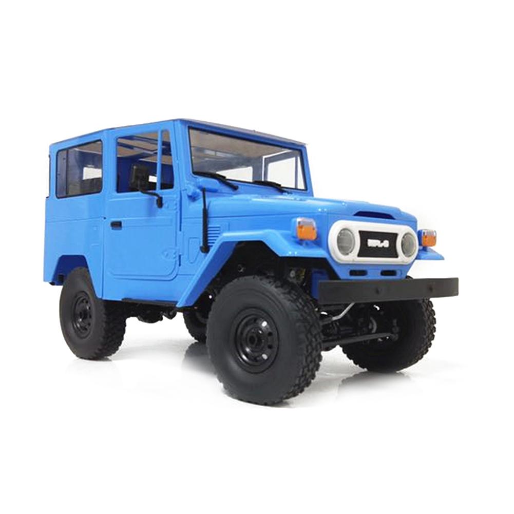 WPL FJ40 DIY 1:16 KIT RC Climbing Truck Off-Road Racing Car Toy Blue KIT Assembly Edition C34K_1:16