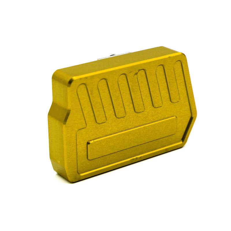 For HONDA CB400NC750S/X Motorcycle Modifications Anti-slip Brake Modified Foot Replacement Rest Refit Pedal gold