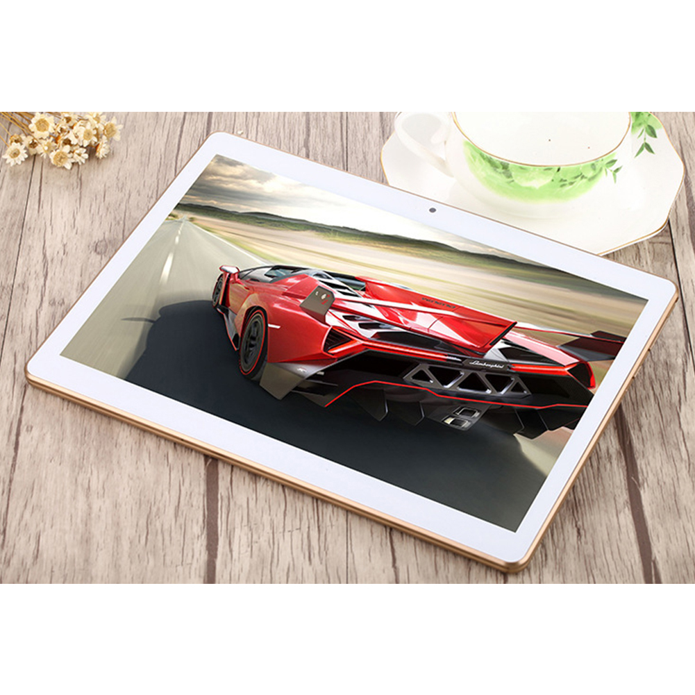 10 inch 16GB Tablet High Definition GPS Navigation Dual Card 4G Call Dual Camera white