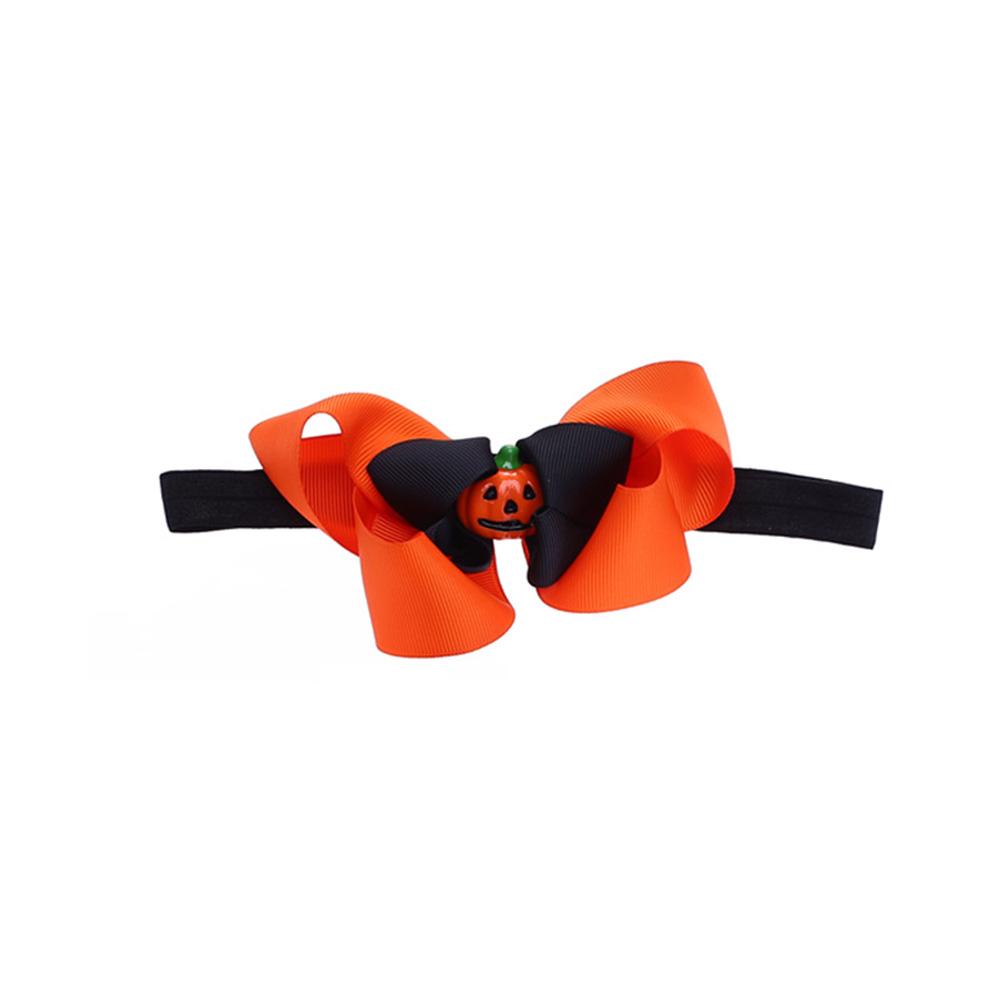 Halloween Bowknot Stretchy Hairband Fashionable Children Hair Accessories Headband