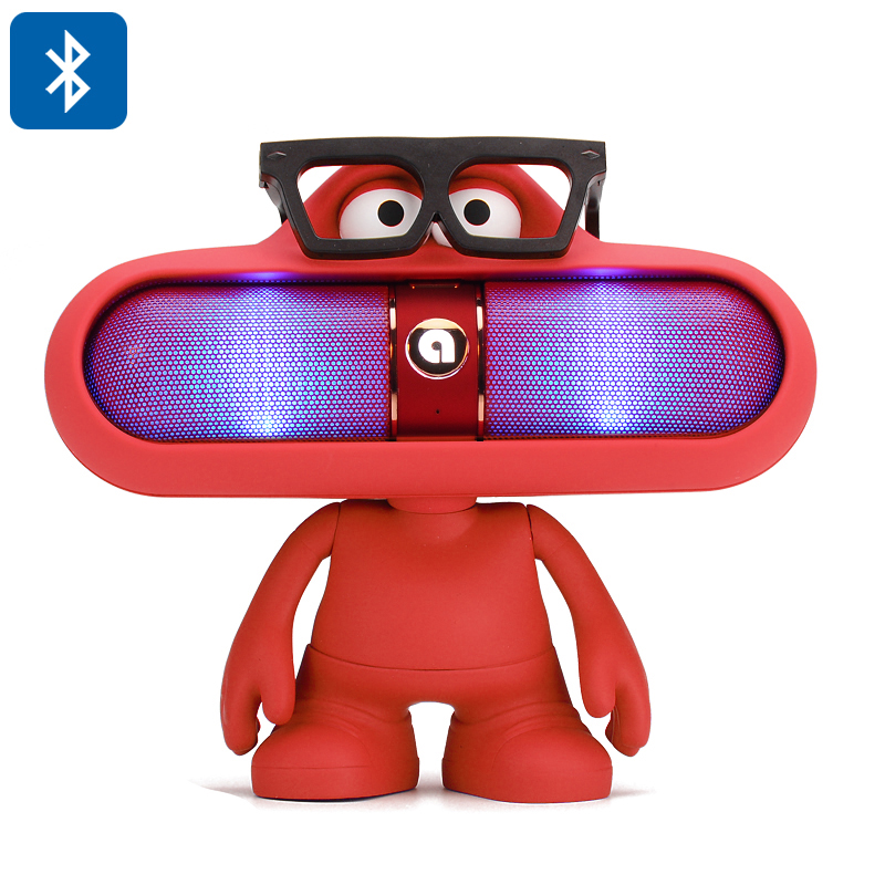 Dude Doll Bluetooth Speaker  (Red)
