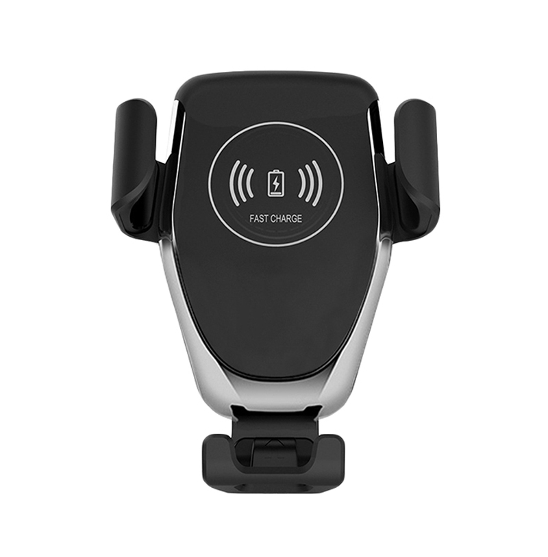 Car Qi Wireless Charger for Phone Black