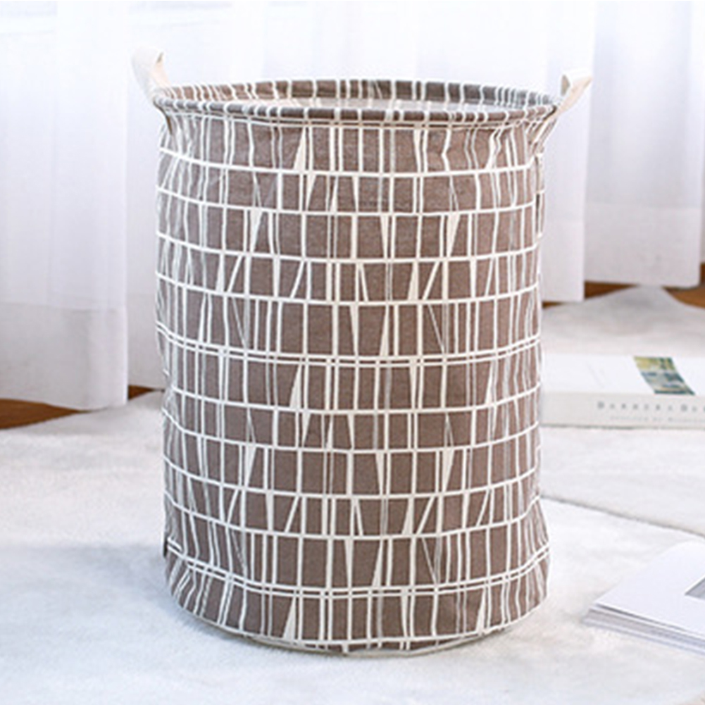 Waterproof Folding Storage Basket for Home Laundry Use