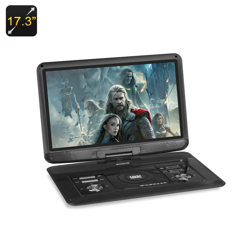 17.3 Inch Portable DVD Player