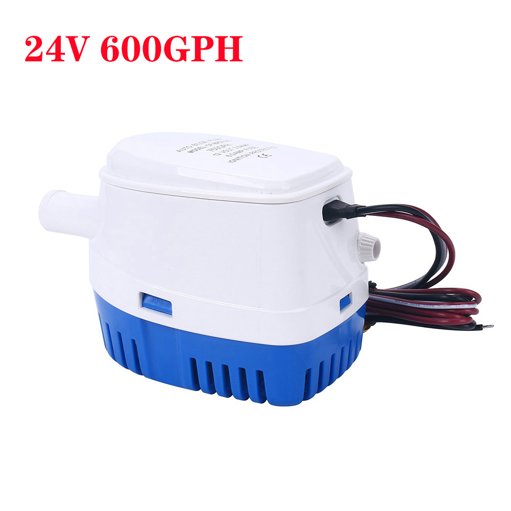 Automatic Boat Bilge Pump Stainless Steel Shaft 12v Auto Water Pressure Pumps 24V