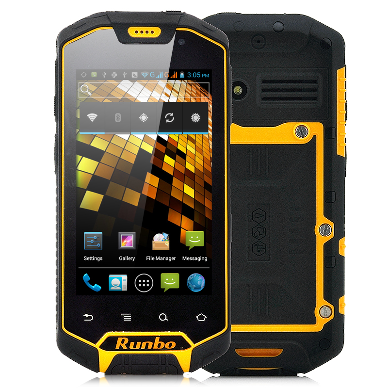 Rugged Android 4.0 Phone - Rambo X5
