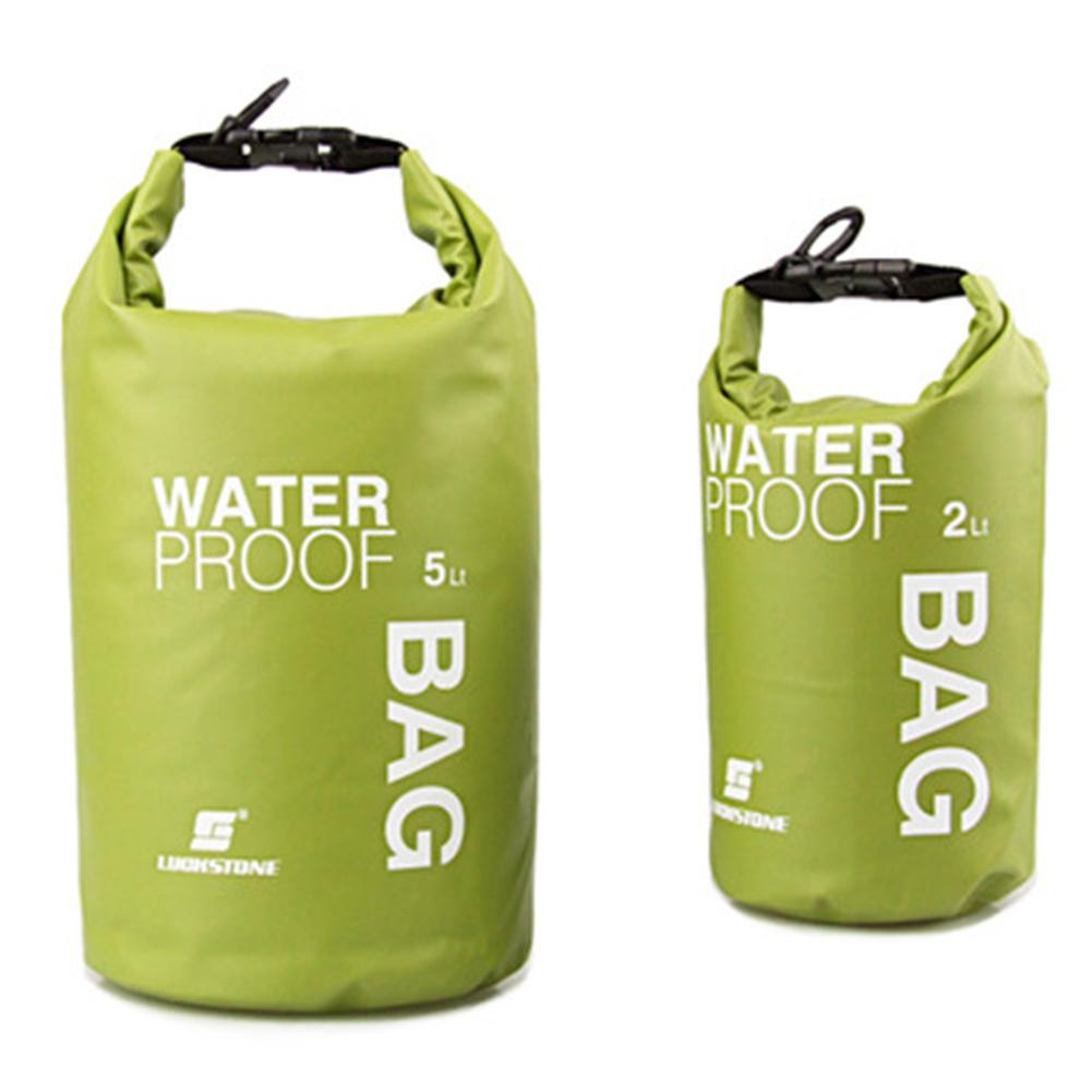 2l Pvc Storage  Bag Wear-resistant Waterproof Mesh Cloth Bag For Phone Camera Bean Green_2l