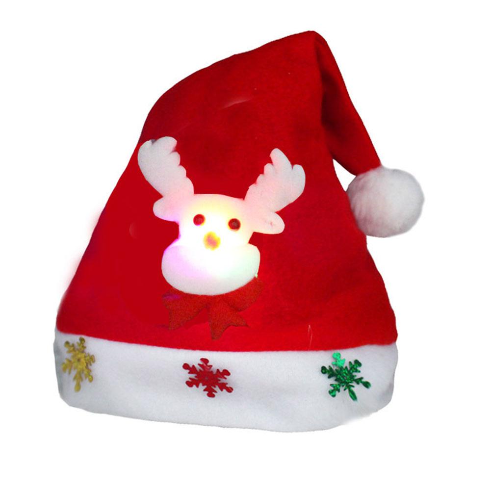 Children/Adults Christmas Hats Santa Hats Cap for Christmas Party Props Decoration