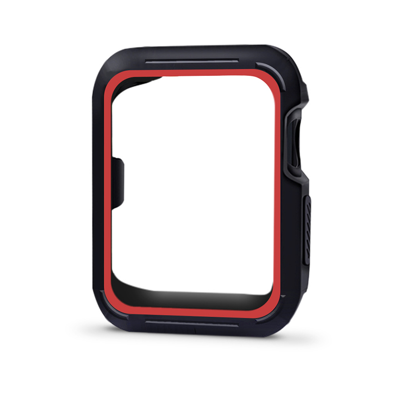 For Apple Watch iWatch Series 4 TPU Bumper Case Cover Screen Protector 40mm 44mm