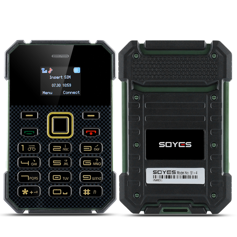 Soyes S1 Ultra Slim Bar Phone (Green)