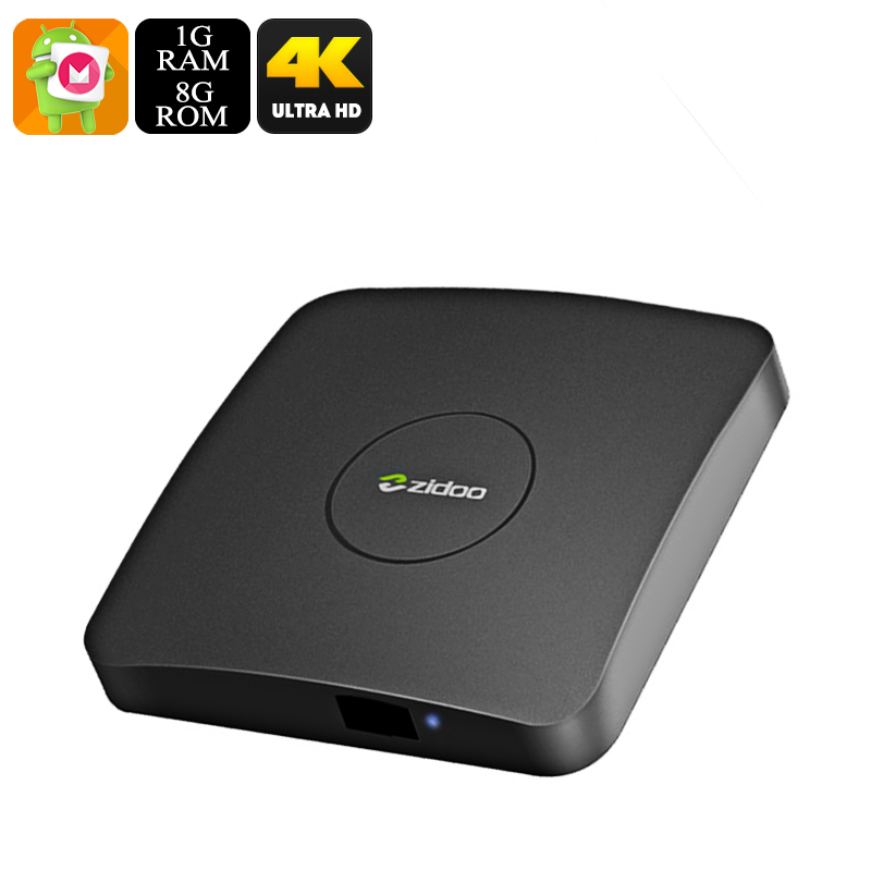 ZIDOO A5 S905X 4K TV Box