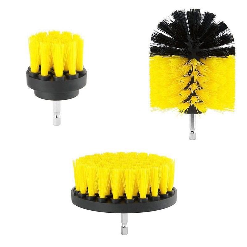Tile Grout Power Scrubber - Yellow
