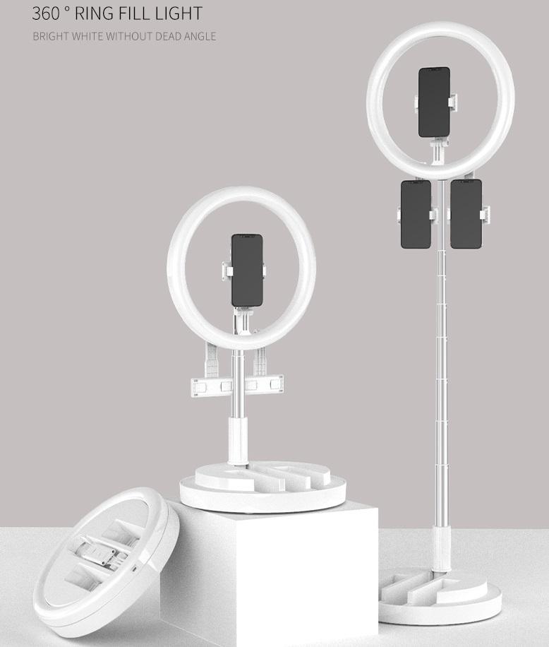 29CM Fill Light Foldable Retractable Portable Lighting Lamp white