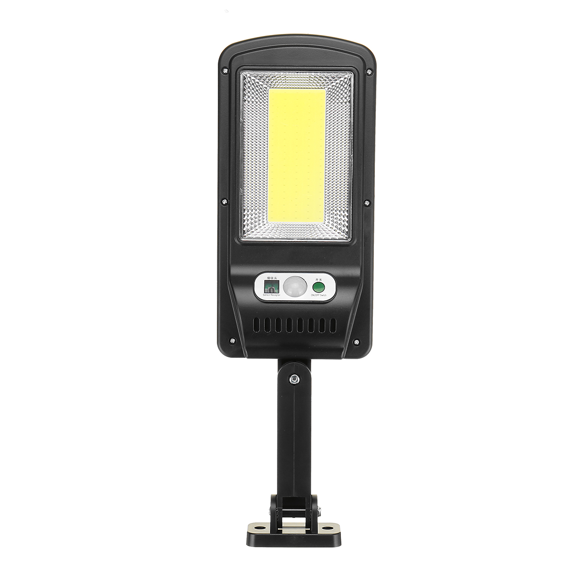 Led Solar Street Lights Outdoor Security Lighting Wall Lamp Waterproof Motion Sensor Smart Control Lamp 2100 single side