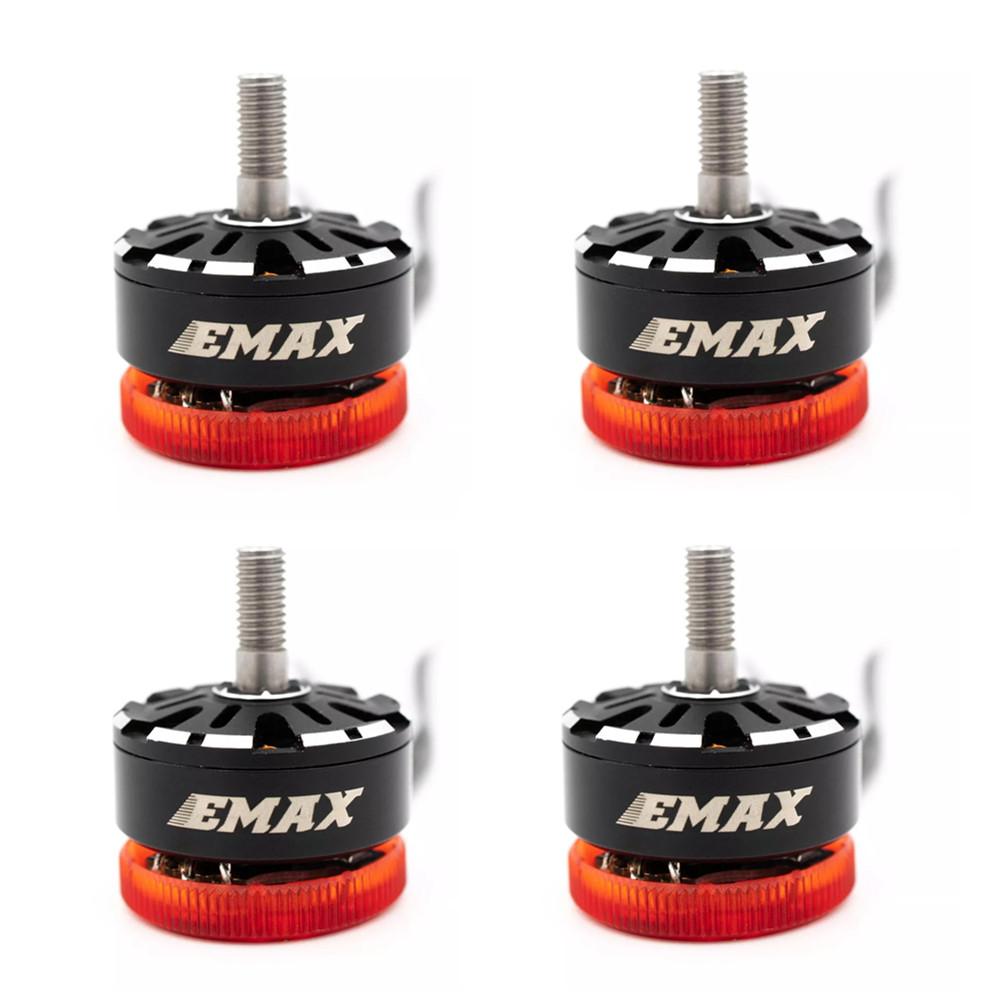 EMAX Pulsar 2306 1700KV 3-6S 2400KV 3-4S LED Light Brushless Motor CW Thread for RC Drone FPV Racing 4PCS 2400KV