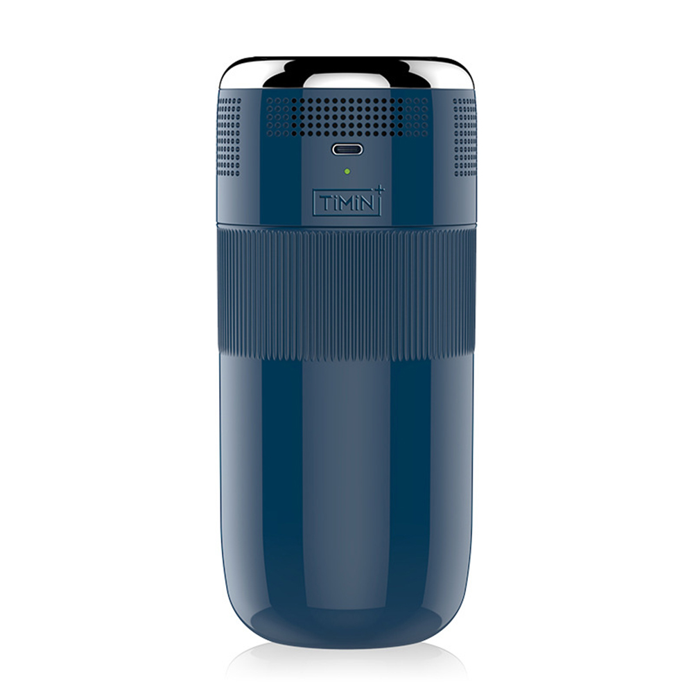 Cooler  Cups Portable Home Outdoor Fast Cooling Usb Plug-in Retro Styke Refrigeration Cup Dark blue