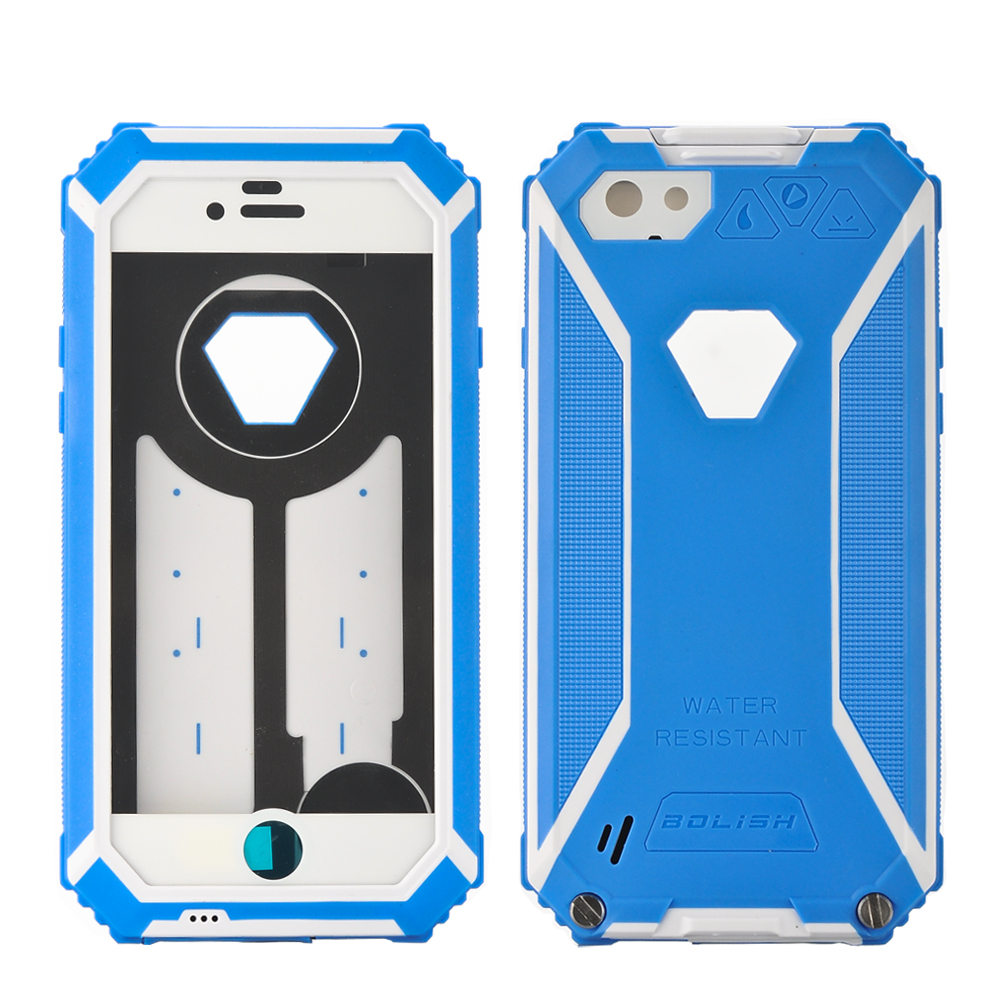 Waterproof iPhone 6 Rugged Case (Blue)