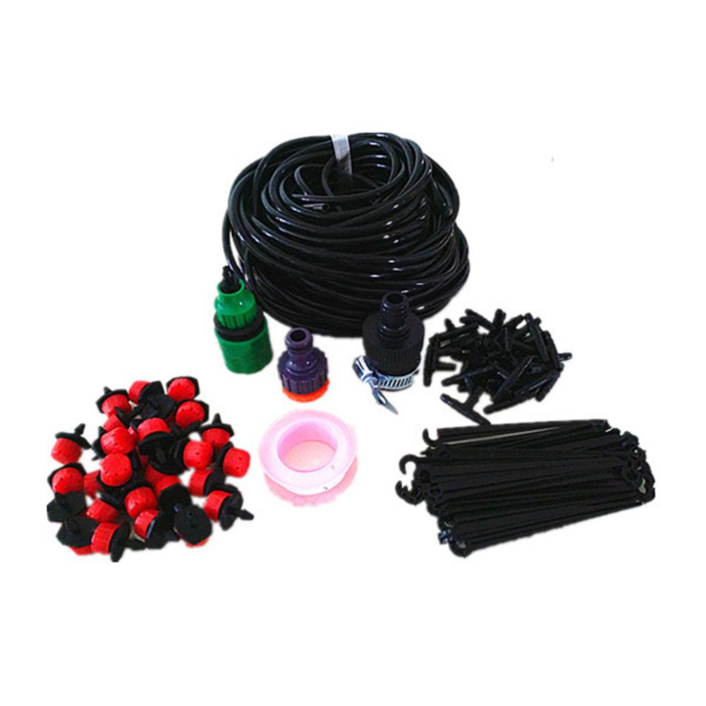 25m 30-dripper Irrigation  Set For Garden Watering Cooling Gardening Accessories 25 meters 30 dripper