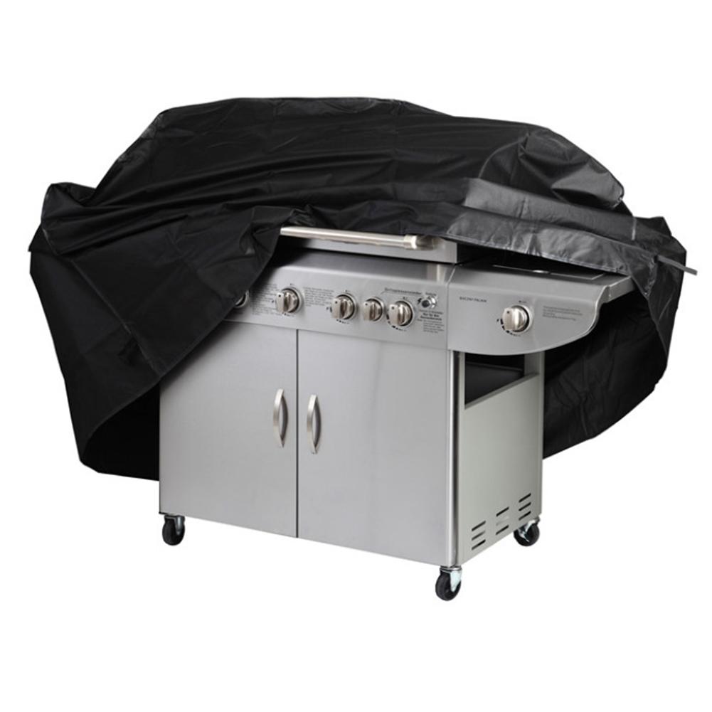 190T Oxford Cloth Sun / Rain / Dust Protection BBQ Cover Baking Machine Rain Cover L (170*61*117cm)