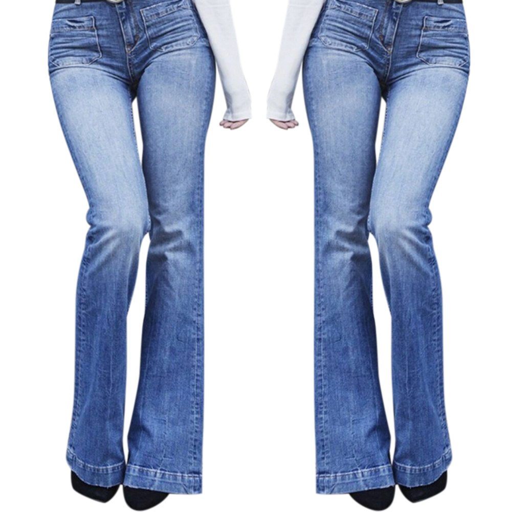 Women High Waist Slim Fit Denim Pants