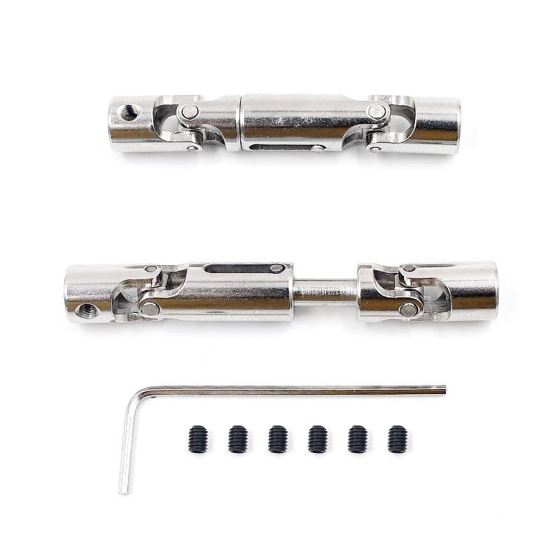 HengLong WPL B1 B-1 B14 B-14 B24 B-24 C14 C-14 1/16 Truck RC Car parts upgrade Metal Transmission shaft Silver