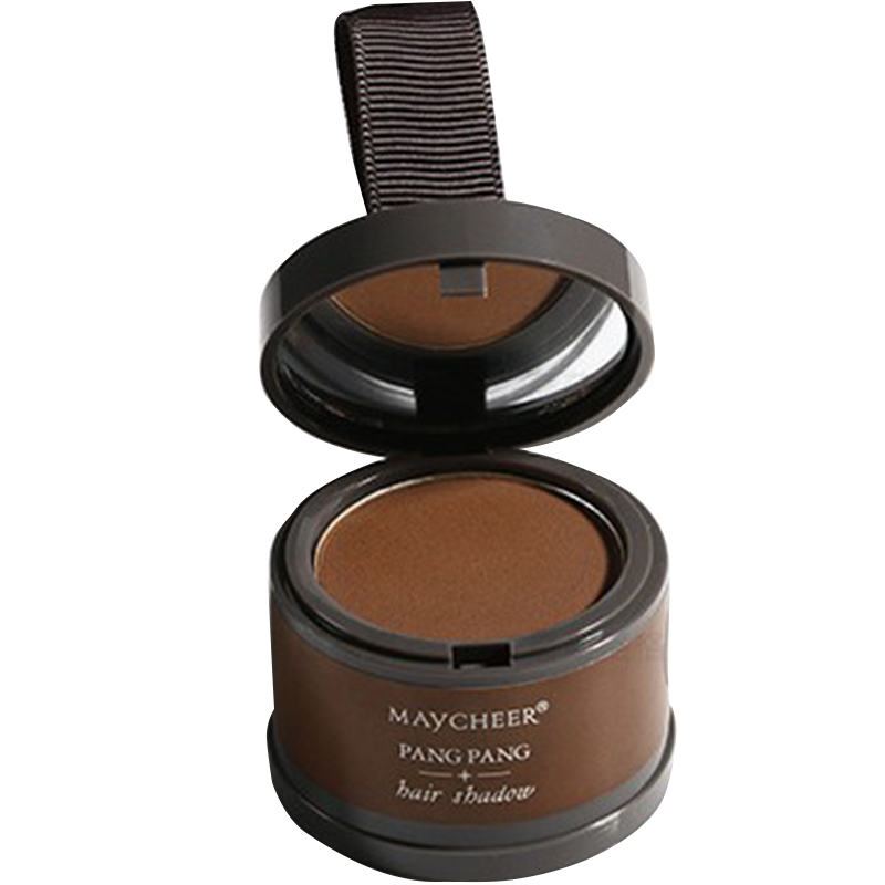 [Indonesia Direct] Magic Powder Fluffy Fine Hair Makeup Line Shadow Concealer Root Hair Cover Up Instant Coverage 1 # brown