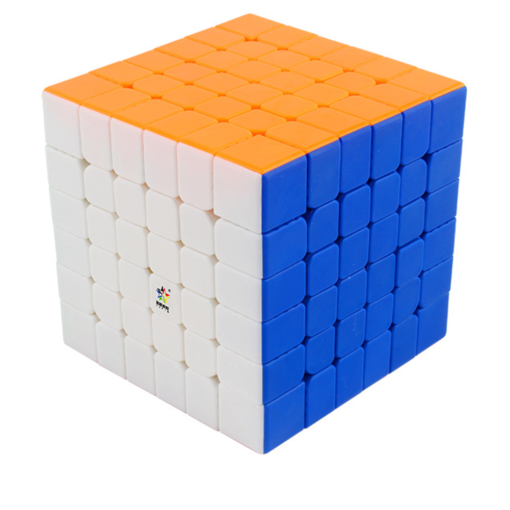 Yuxin 6X6 Magic Cube Fluorescent Color Stress Reliever Toy for Kids colors