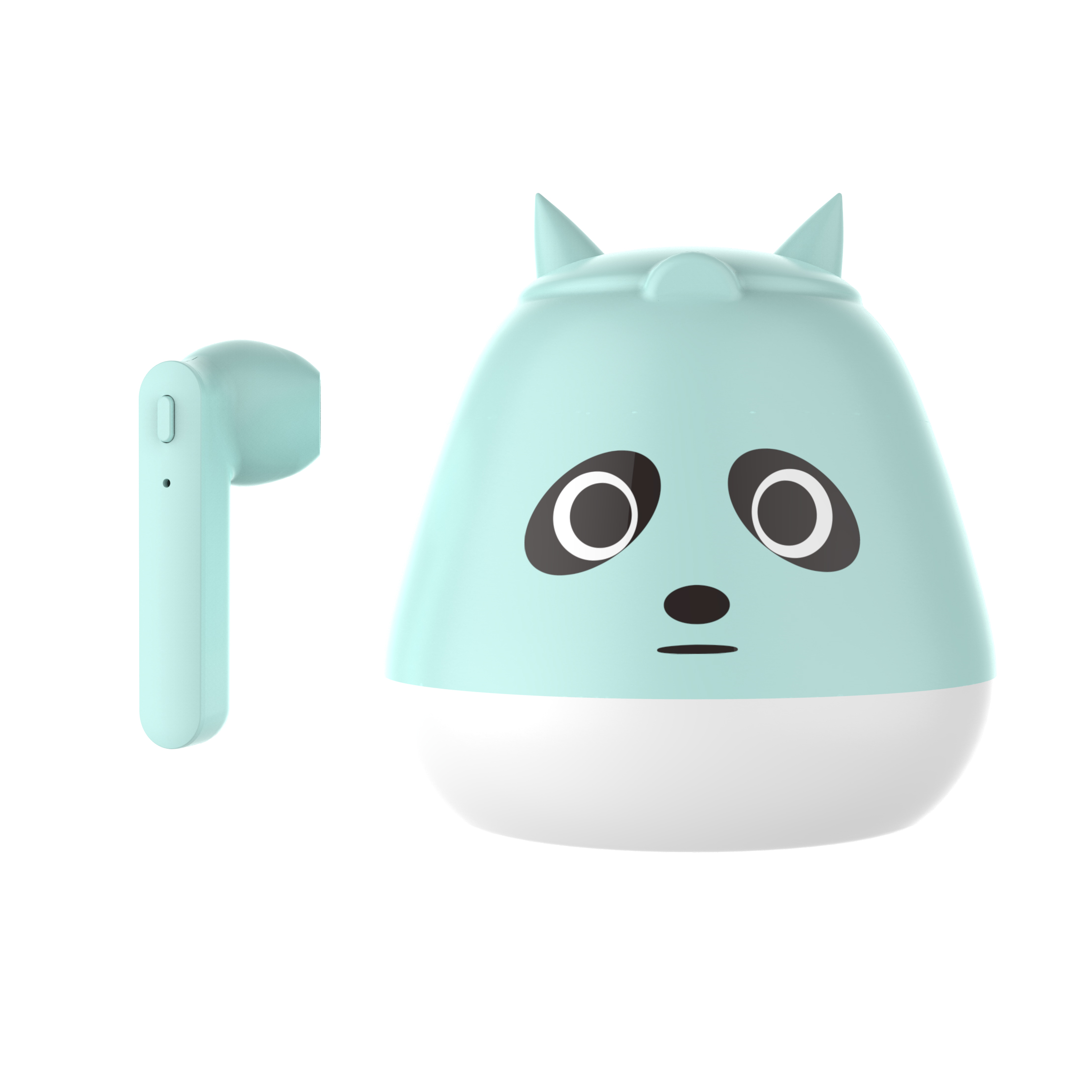TWS Bluetooth 5.0 Headset Cute Cartoon Real Wireless Sports Headset  Little panda