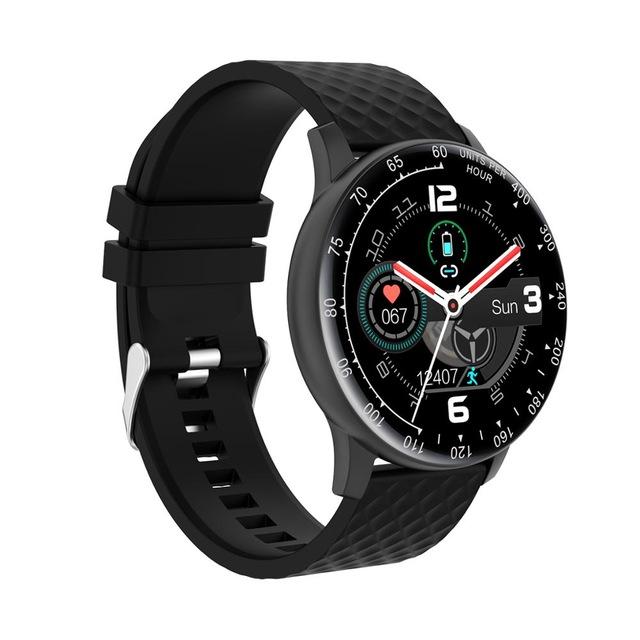 H30 Smart Bracelet Waterproof Blood Pressure Heart Rate Monitor Watch black