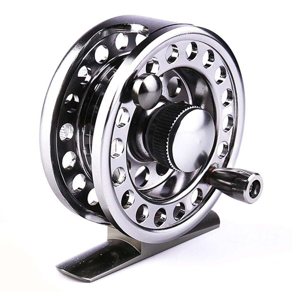 Rock Fishing Ice Fishing Front Wheel Sea Fishing Spinning Wheel Fly Fishing Wheel 60 silver