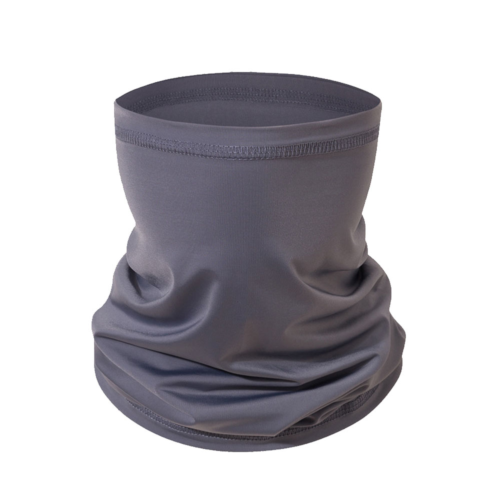Cycling Sunscreen Face Bandana Outdoor Sports Women Men Headband Faceshield Mask dark gray_One size