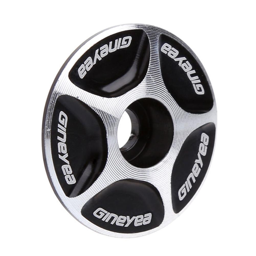 Aluminum Bicycle MTB Road Mountain Bike Stem Accessories Headset Top Cap Cover Black