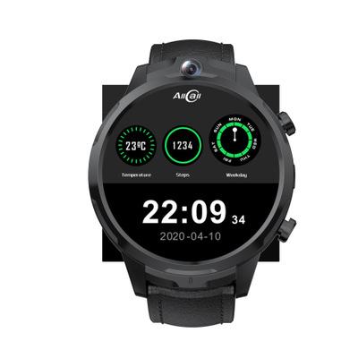 Gt2 Smart Watch 1.6 Inch 3+32gb Hd Screen Face Recognition Ip67 Waterproof Smartwatch black