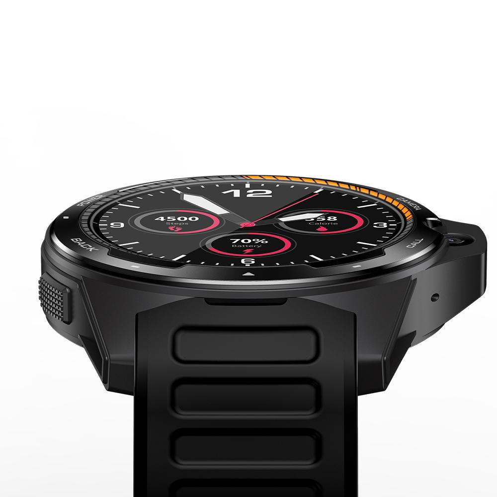 Original ZEBLAZE Smart  Watch  Bracelet Dual-system Dual-chip 8 Million Pixels 2+16g Ram Men And Women Watches black