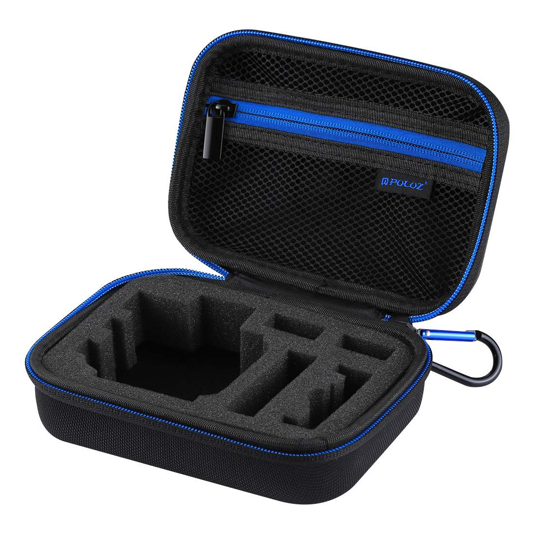 PULUZ Waterproof Travel Carry Bag Case for GoPro HERO 7/6/5/4Session/4/3+/3/2/1 black